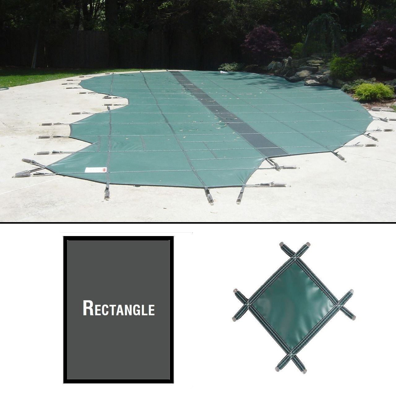 PermaGuard 22'x40' Rectangular Pool Cover