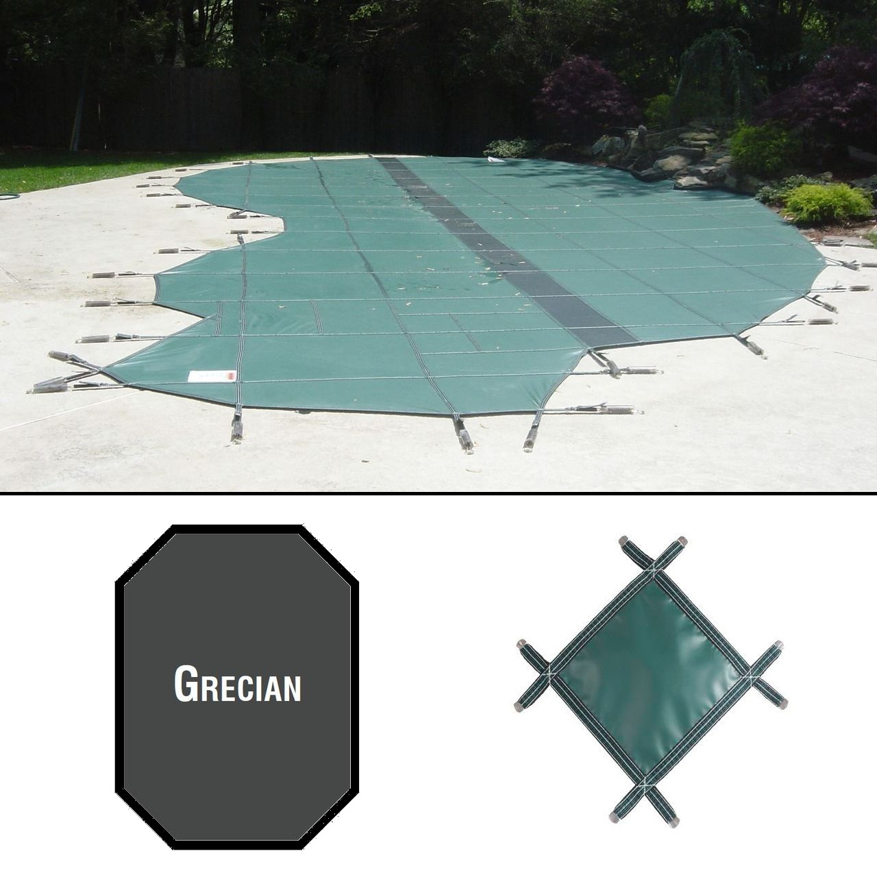 PermaGuard 23'x42' Grecian Pool Cover