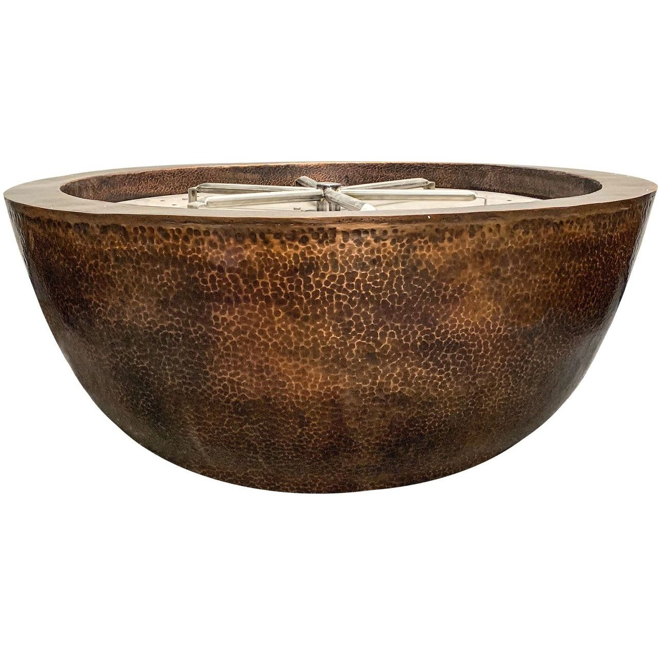 Prism Hardscapes Moderno 1 Fire Bowl in Copper - LP