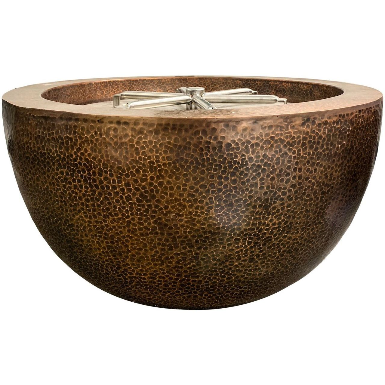 Prism Hardscapes Moderno 3 Fire Bowl in Copper - LP