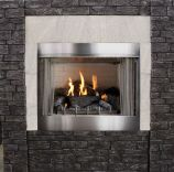 Empire Outdoor Premium 36 Traditional MV Fireplace with Log set, LP