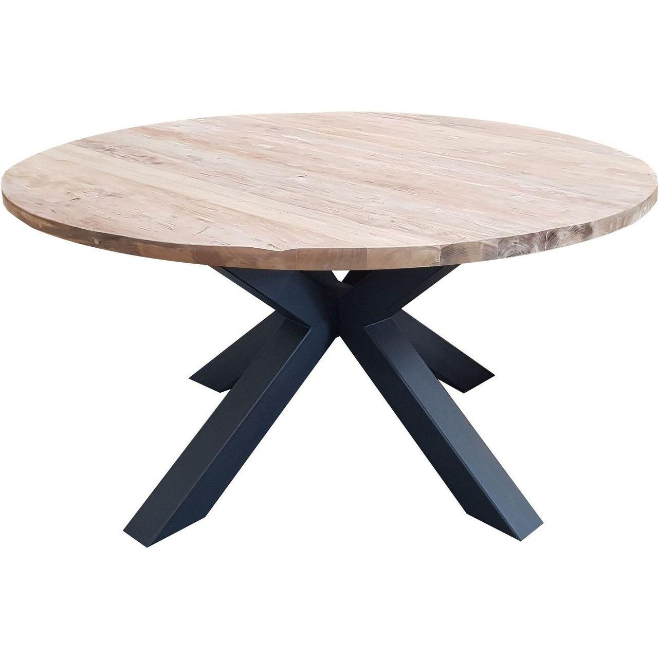 """Padma Giulia 48"""" Reclaimed Teak Dining Table"""