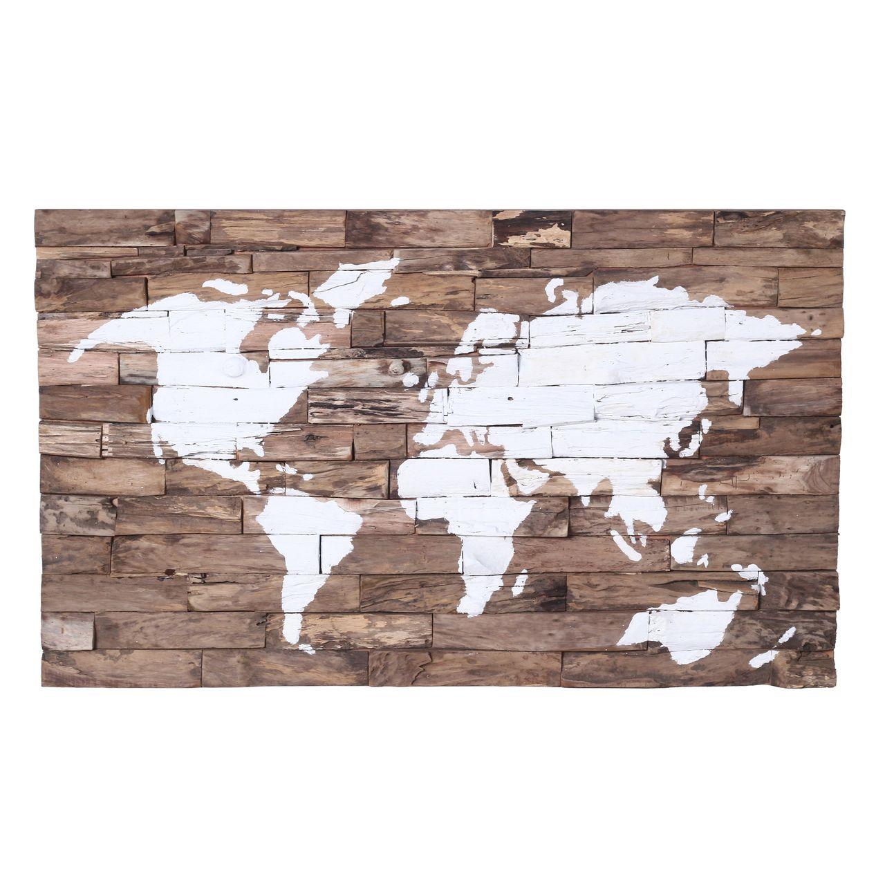 Padma Wood World Map