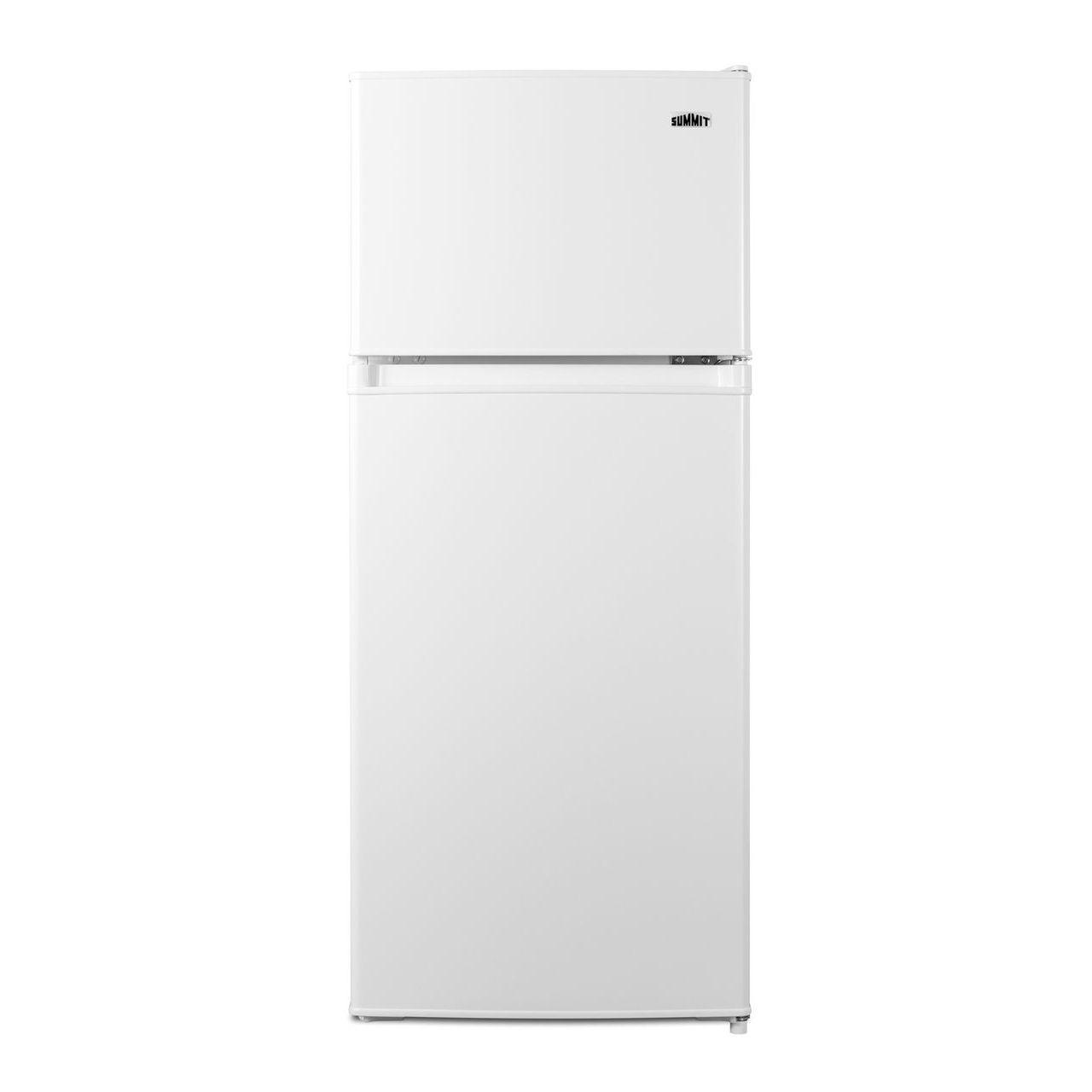"""Summit 19"""" Wide Refrigerator/Freezer - White"""