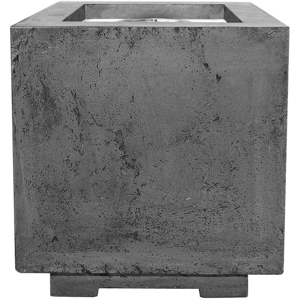 Prism Hardscapes Scatola Fire Bowl in Pewter - LP