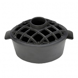 T50BB- 2.2 Qt Enamel Steamer - Lattice Top