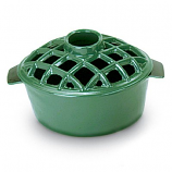 T50GR- 2.2 Qt Enamel Steamer - Lattice Top