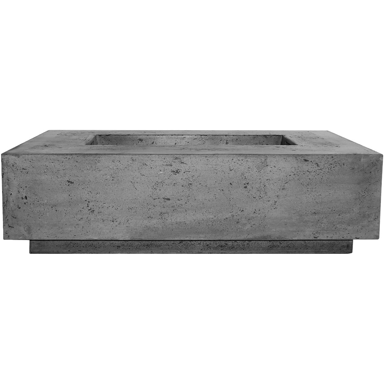 Prism Hardscapes Tavola 1 Fire Table in Pewter - LP