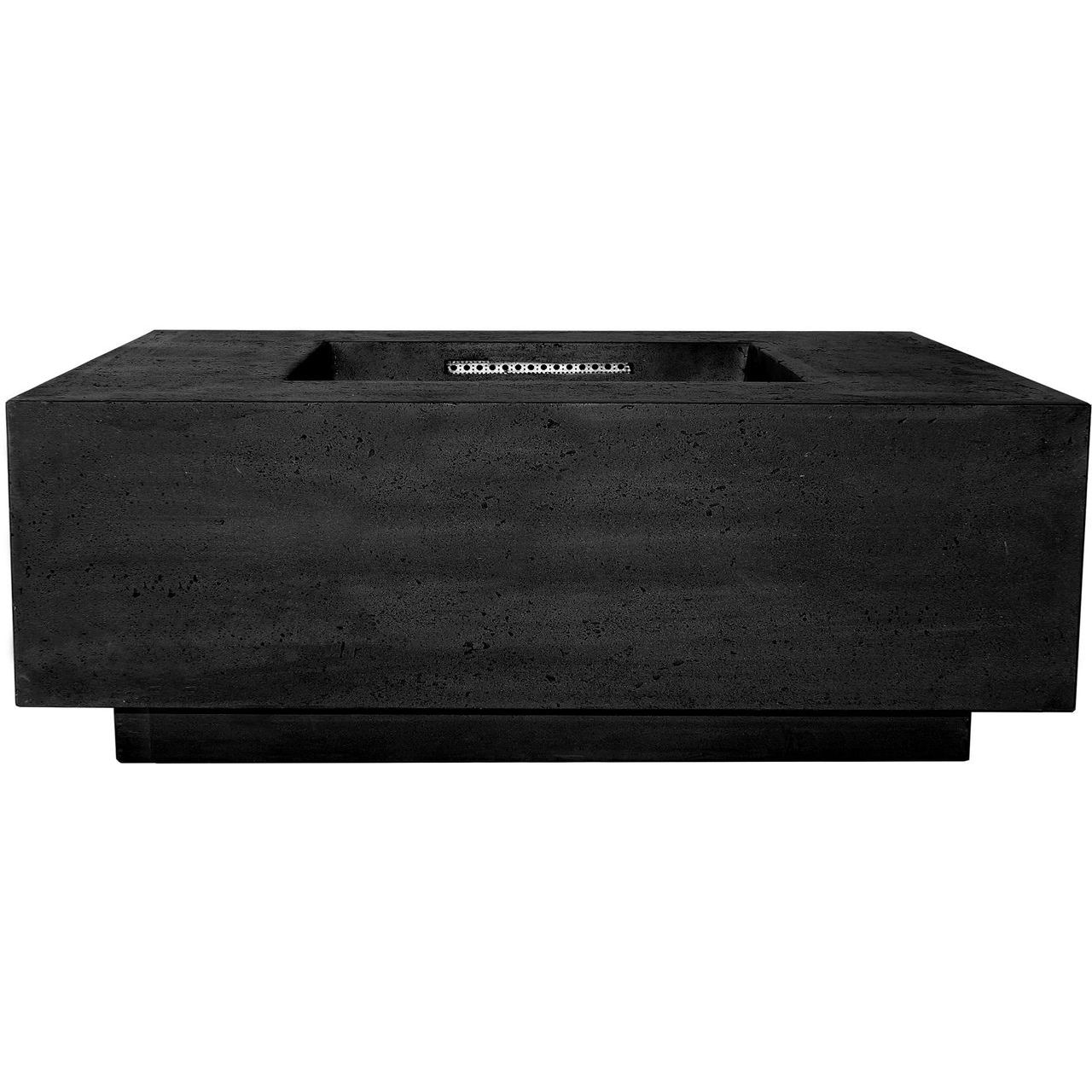 Prism Hardscapes Tavola 3 Fire Table in Ebony - NG