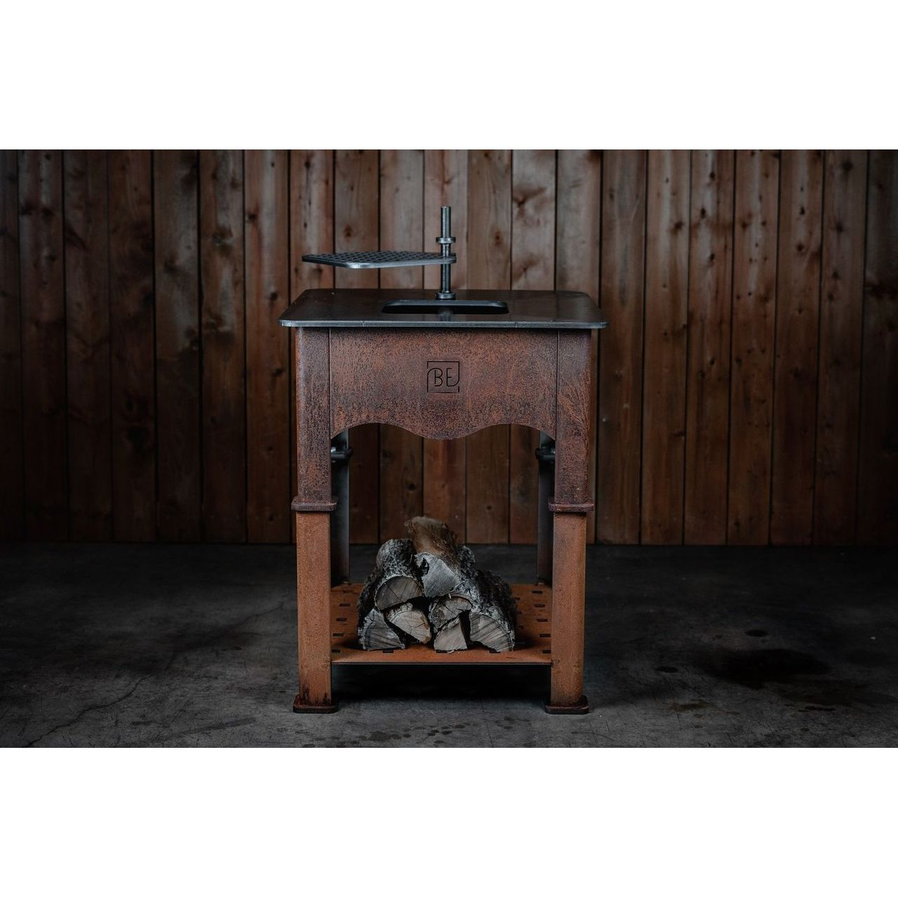 Black Earth Teppan Grill Stand