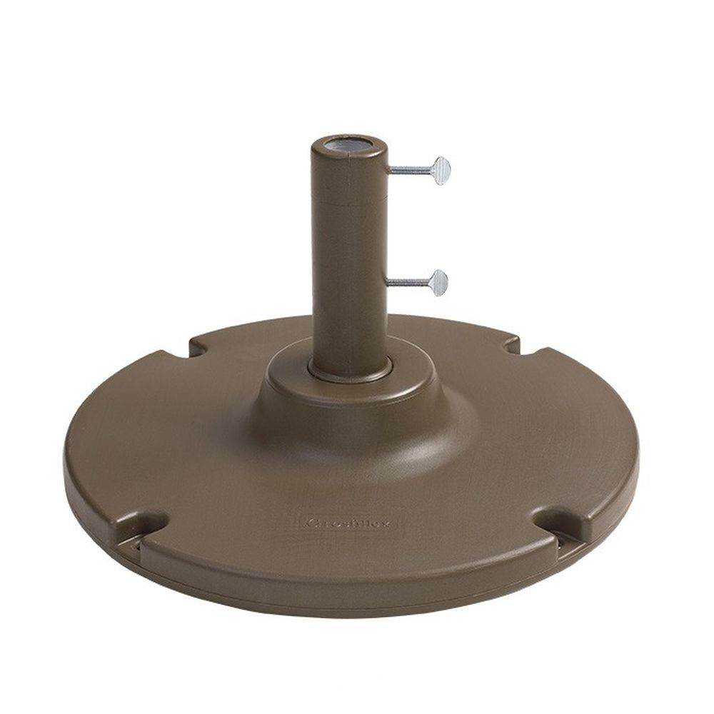 Grosfillex 35 lbs Table Umbrella Base in Bronze