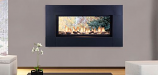 """Monessen 42"""" Artisan Vent Free See-Through SSC Linear Fireplace - NG"""