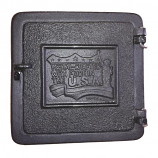 Sandhill 8'' x 8'' Cast Iron Clean-Out Door