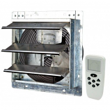 """iLiving 12"""" Smart Remote Shutter Exhaust Fan with Variable Speed"""
