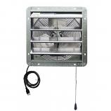 "iLiving 14"" Shutter Exhaust Attic Garage Grow Ventilation Fan"