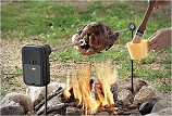 Grizzly Spit Campfire Rotisserie