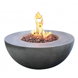 Elementi OFG107-NG Roca Glassfibre Reinforced Concrete Fire Table-Natural Gas