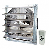 """iLiving 20"""" Smart Remote Shutter Exhaust Fan with Variable Speed"""