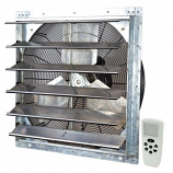 """iLiving 24"""" Smart Remote Shutter Exhaust Fan with Variable Speed"""