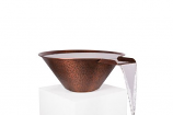 "NG 36"" Copper Round Water Bowl"