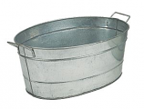 Standard Oval Steel Tub By Minuteman