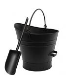 Coal Hod / Pellet Bucket W/ Scoop